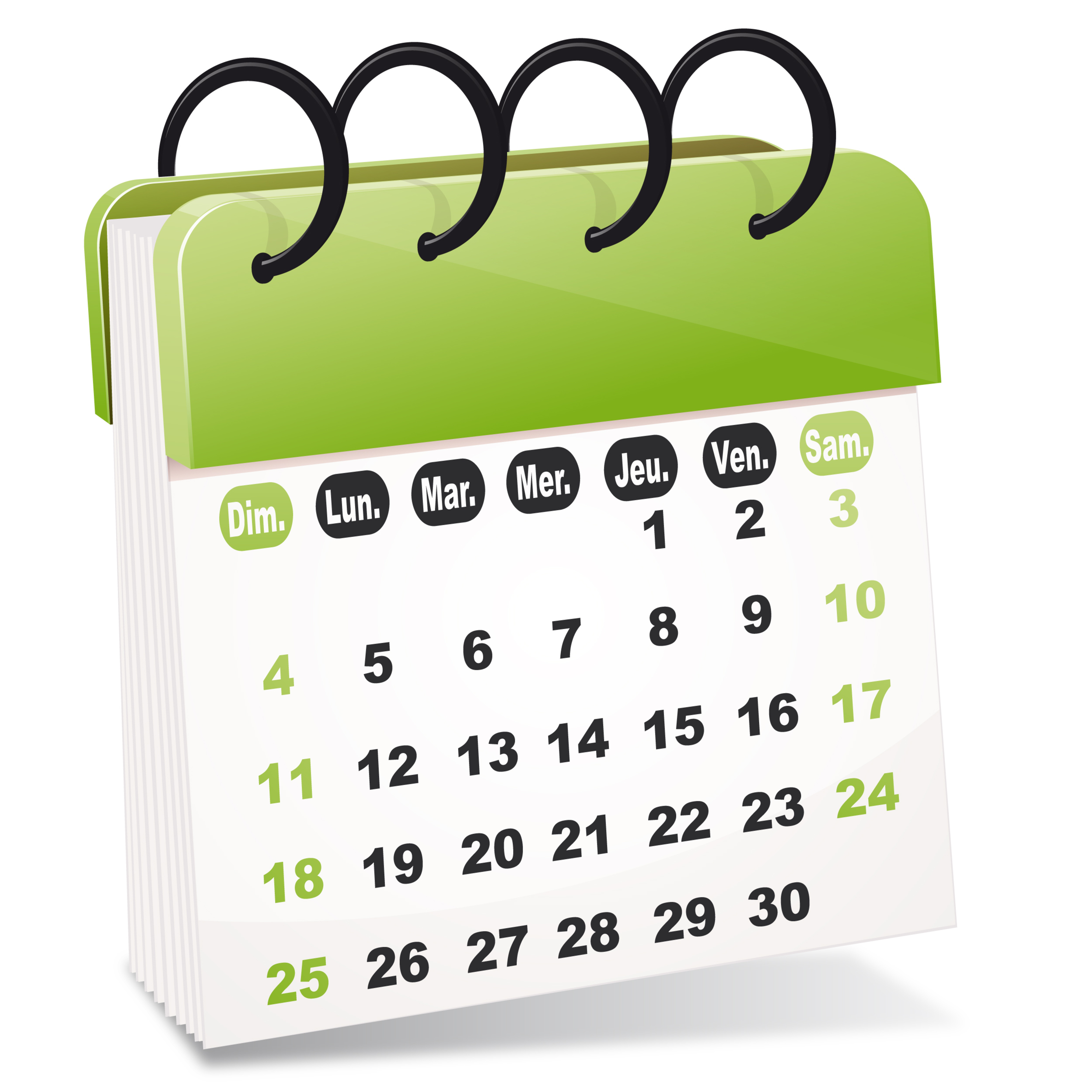 Calendrier 2017 des formations
